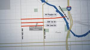 Little Havana Miami Map by Expect Road Closures Friday During Trump U0027s Visit To Miami Nbc 6