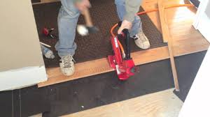 Bostitch Engineered Flooring Stapler by Powernail Flex 50p 18 Gage Pneumatic Nailer For Hardwood Floors