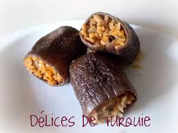 comment cuisiner aubergine aubergines séchées farcies au riz et boulgour etsiz kuru patlican