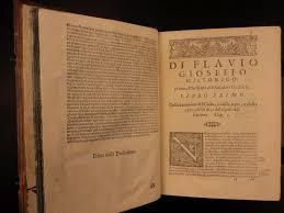 1619 flavius josephus jewish war history judaism judaica