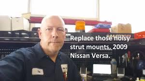 nissan versa engine mount nissan versa strut mount install youtube