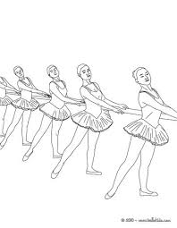 ballet dancers training at the barre coloring pages hellokids com