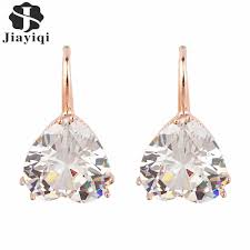 sweet earrings aliexpress buy 2017 fashion vintage gold heart