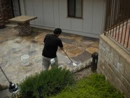 Wet Look Patio Sealer Reviews The Proper Way To Clean U0026 Seal Exterior Slate Or Flagstone San