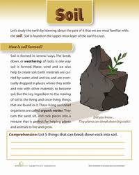 how is soil formed science worksheets earth space and science