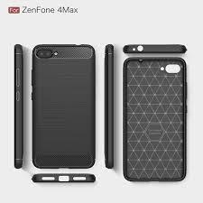 Zenfone 4 Max Shockproof Armor Carbon Fiber Tpu For Asus Zenfone 4 Max