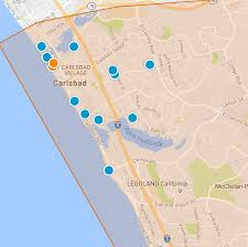 Map Of Carlsbad Ca Carlsbad Real Estate
