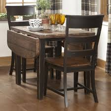 Collection Black  Piece Dining Set Pictures Images Home Design - Counter height dining table drop leaf