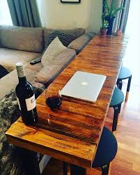 Sofa Bar Table 300 Pallet Ideas And Easy Pallet Projects You Can Try Page 7 Of