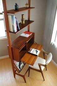 Desk Molding Bookcase Leaning Bookcase With Desk Built In Bookshelves And