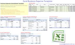 excel u2013 free business expense template u2013 inner alignment perth
