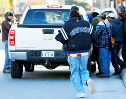 thanksgiving 2014 houston day laborers wait at curb for chance to work san antonio express