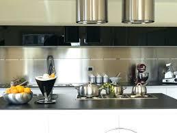 cuisine avec pose cuisine avec credence inox credences cuisine pose credence inox
