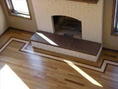 Hardwood Floor Borders Ideas Home Improvements Hardwood Flooring Decorative Designs And