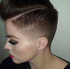 fade hairstyle for women short fade haircut for women hairs picture gallery