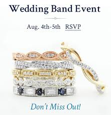 wedding bands new orleans ramsey s diamond jewelers the wedding band show new