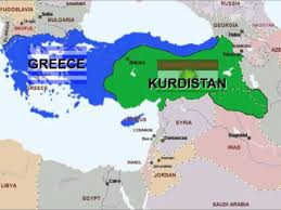 Greece Turkey Map by What If Greece And Kurdistan Conquered Turkey 1 Youtube