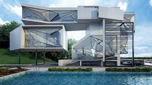 Modern House Drawing by Modern House Drawing Perspective Floor Plans Design Architecture