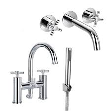 enki cross bath filler tap shower head wall mount basin mixer enki cross bath filler tap shower head wall mount basin mixer tap pack oxford