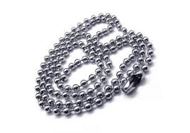 man titanium necklace images Men 39 s silver pure titanium pendant necklace chain new 10588 97 jpg
