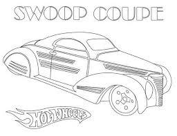 wheels swoop coupe coloring netart