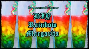 margarita on the beach diy rainbow margarita youtube
