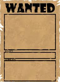 wanted posters template microsoft word gift certificate template