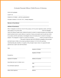 Printable Power Of Attorney Forms by 12 Co Power Of Attorney Form Week Notice Letter