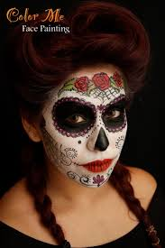 Halloween Skull Face Makeup by 53 Best Sugar Skulls Of Mine Images On Pinterest Sugar Skulls