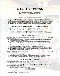 interior design resume u2013 inssite