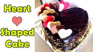 heart shaped anniversary u0026 valentine u0027s day cake recipe fondant