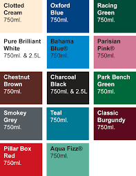100 exterior paint colour chart solver exterior paint