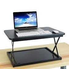 deskriser 28x standing desk adjustable height sit to stand up