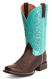 womens cowboy boots for sale sale free shipping ariat s rundown brown turquoise