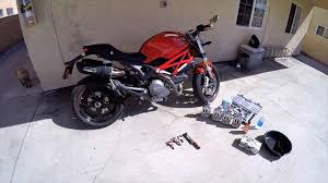 ducati m796 oil change youtube