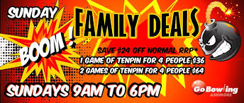 sunday is family day at go bowling ashmore