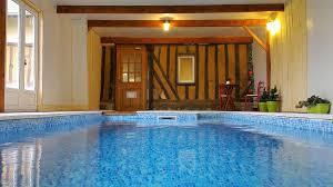 chambre d hote avec piscine int駻ieure maison normande avec piscine intérieure chauffée la noé poulain
