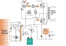 hybrid inverter with solar power system