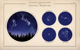Constellations Map Bay Area Homicide Constellation Map Doug Mccune