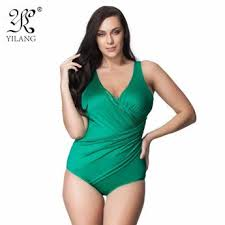 one piece suits green plus size swimsuits sears
