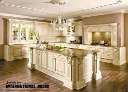 Luxury Cabinets Kitchen by Best Designs Of Luxury Kitchens In Classic Style