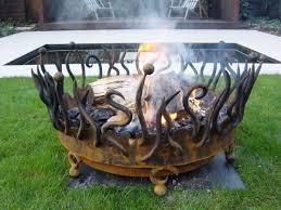 unique fire pits cool fire pit accessories outdoor ideas design seg2011 com