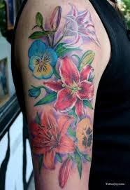 27 best feminine flowers tattoos images on pinterest ankle