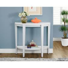 Turquoise Console Table Monarch Specialties White Console Table I 2451 The Home Depot