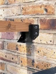 how to build a wall leaning pergola pergolas walls and patios