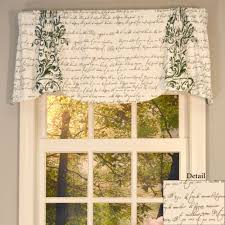 mon amie versatile scalloped window valance