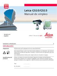 leica gs10 gs15 usermanual es