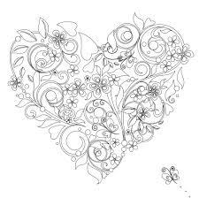 vive le color hearts coloring book color in de stress