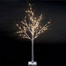 winter tree with 96 warm white leds