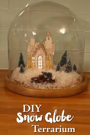 diy snow globe terrarium u2014 weekend craft